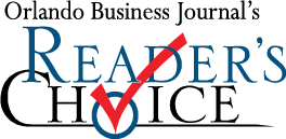 Vose Law Firm LLP - Orlando Business Journal Reader's Choice Best Law Firm 2009 - Vose Law Firm LLP